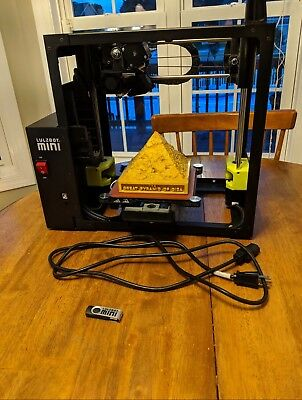 Lulzbot Mini 3D Printer GREAT CONDITION -Read Description For Shipping Options -