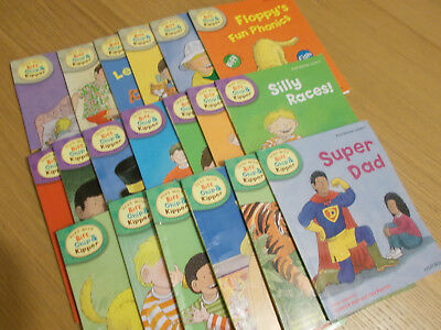 biff, chip and kipper books level 1,2,3 oxford reading tree