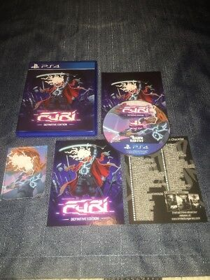 Furi: Definitive Edition (Sony PS4, 2017) LIMITED RUN #62 FREE SHIPPING
