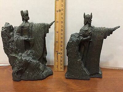 Lord of the Rings - The Argonath - Mary Maclachlan Sculptor - DVD Collectible