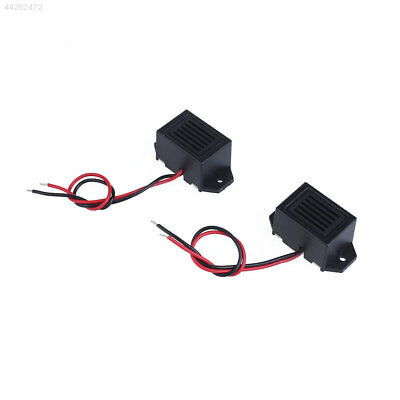 5EA6 Small Mini 70DB Electronic Mechanical Vibration Buzzer DC 3V with Cable