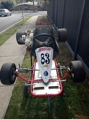 70's Margay Stingray Vintage/Historic Go-Kart