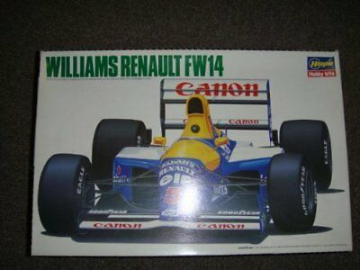 1/24 Hasegawa Williams Renault FW14 Canon Plastic Model kit Car Japan Gift