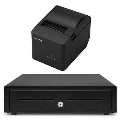 Kounta Receipt Printer & Cash Drawer iPad Compatible Bundle #21