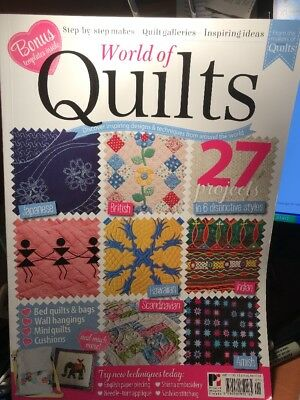 quilting magazine/book - WORLD OF QUILTS - 27 projects in 6 distinctive styles