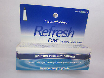 Refresh PM Nightime Ointment - Collectible - Expired SEPTEMBER 2017 - FREE SHIP