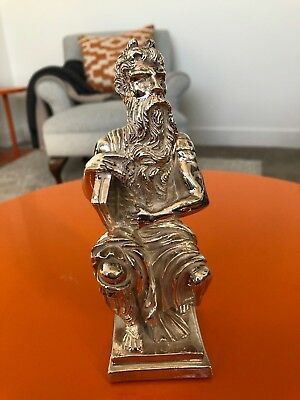 Sterling Silver Figurine Moses