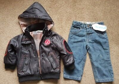 *New* Boys size 1 Beni Bub Jeans & Jacket