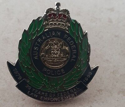 Australian Federal police 20 Years Of Federal law Enforcement