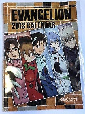 【 Mint condition】Evangelion 3.0 ANIME Lawson limited A4 calendar movic