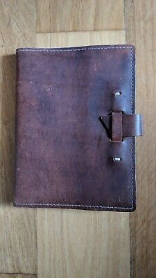 New Rustico Leather Bound Journal Notebook Diary