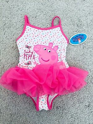 peppa pig swimming costume Age 18-24 Months