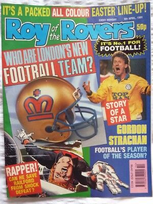 Roy of the Rovers Comic 06 04 1991 Exc Condition