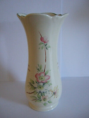 Royal Winton Vase The Country Diary Collection With Dog Roses