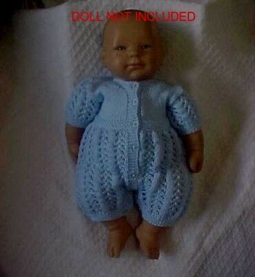 Hand Knitted Rompers- Two Colours Remain
