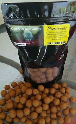 Carp Barbel boilies - Fruits n spices mixed sizes 18mm - 20mm bag 400gr