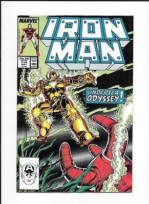 Iron Man #218 Decent (7.0) Marvel