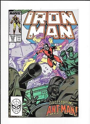Iron Man #233 Decent (8.0) Marvel