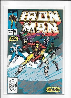Iron Man #240 Higher Grade (8.5) Marvel Ghost
