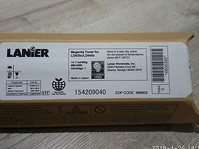 New Genuine  Lanier Magenta Cartridge for LD435c/LD445c, Made in Japan