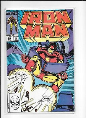 Iron Man #246 Decent (8.0) Marvel