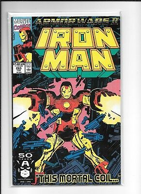 Iron Man #265 Decent (7.0) Marvel