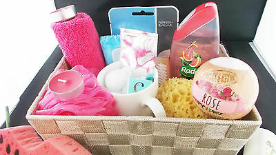 Women's Beauty Pamper Gift Set Hamper Gift Basket Spa Basket Spa Hamper Gift Set