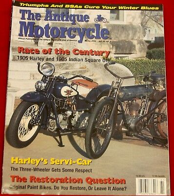 THE ANTIQUE MOTORCYCLE Club Magazine Summer 2009 Indian 1908