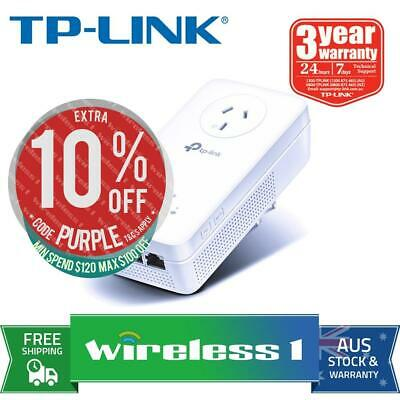 [PRE-ORDER] TP-Link TL-WPA8630P AV1300 3-port Gigabit Passthrough Powerline