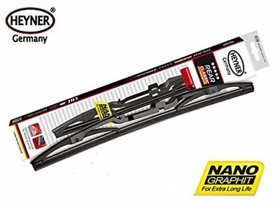"""Quality HEYNER classic rear wiper blade 10"""" 250mm single direct replacement"""