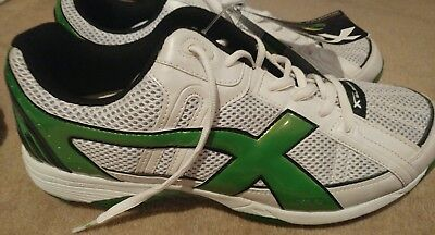 X Blades genius Green/white Football Boots US 11! Rugby/AFL  new #sundaymarket