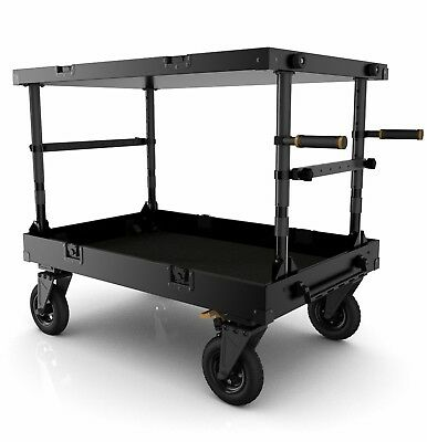 "Inovativ Scout 42 EVO SL 42x24x7"" Equipment Cart with Removable 10"" Wheel System"