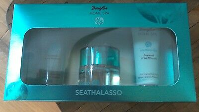 Douglas Beauty System SEATHALASSO EDT100ml,Duschgel 75ml , BODYL.75ml Luxusprobe