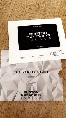 Burton Gift Card For £20, Uk