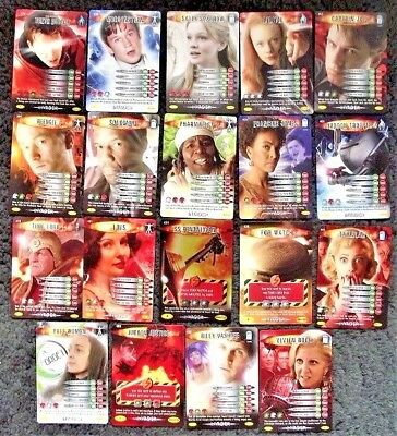 Bundle Lot of 19 Doctor Who Battles In Time Invader Common & Rare Trading Cards