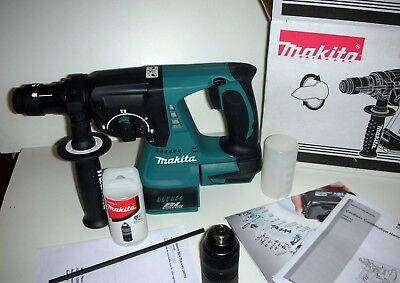 Makita Rotary Hammer Drill: DHR243Z 18V Li-ion Brushless 24mm +Quick Drill Chuck