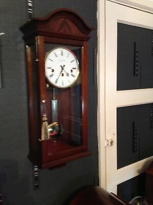 Superb Comitti Of London Wall Clock Westminster Chimes
