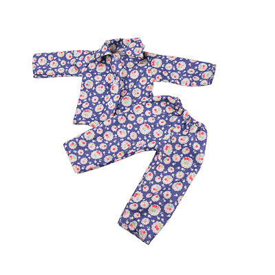 Pajamas PJS Nightgown Clothes for 18in.  Doll #I