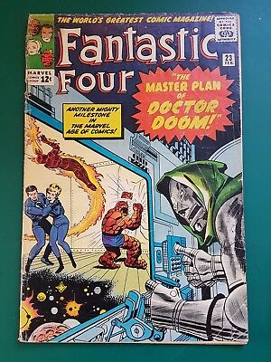 Fantastic Four #23 Feb 1964 Good-