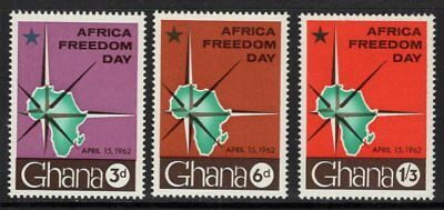 Ghana Sg280/2 1962 Africa Freedom Day Mnh