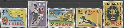 Ghana Sg228/32 1959 West African Football Competition Mnh