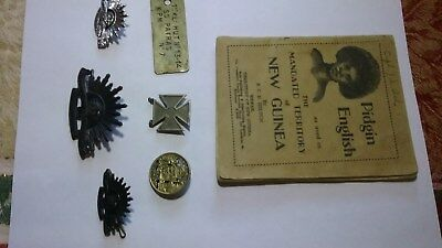 Australia. Australian Common Wealth Military Forces Genuine Badges Book