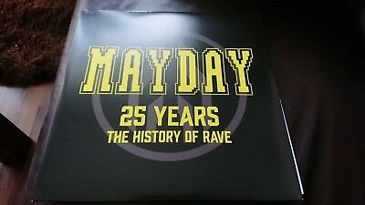 Mayday 25 Years - The History Of Rave (Ltd. Edition) 4xVinyl NEAR MINT