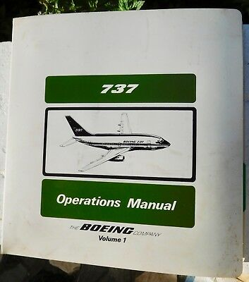 VINTAGE 1984  737 FLIGHT HANDBOOK  PEOPLES EXPRESS AIRLINES, Continental Airline