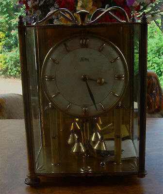 Koma Carriage Clock (over-wound) + Key and original purchase receipt ..