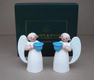 Wendt & Kühn Engel mit Lichtnapf 6,5 cm (Angel with candle holder) 553/w