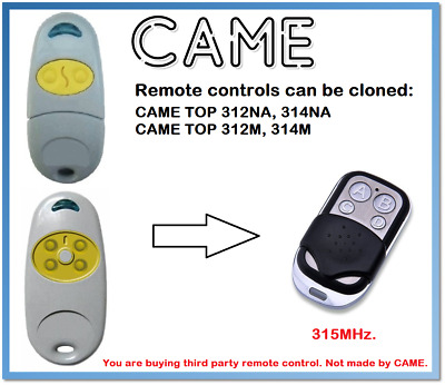 CAME TOP 868.35MHz. TWIN TAM Remote Control Duplicator 315MHz 433.92MHz