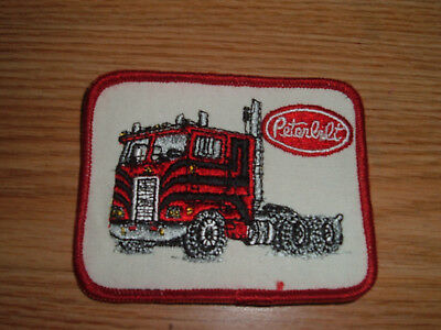 Vintage Peterbilt Truck Embroidered Patch