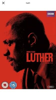 luther box set series. 1- 3 dvd