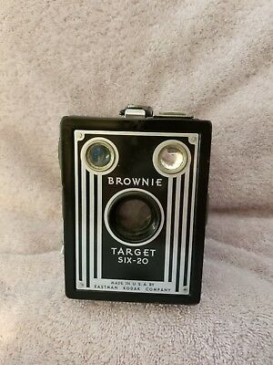 Kodak Brownie Target six-20 camera black